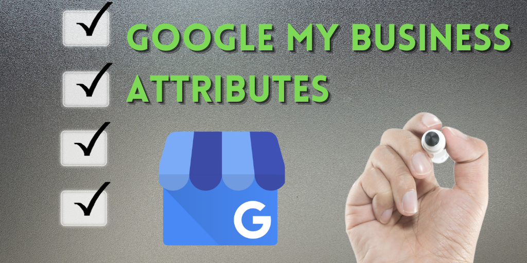 google my business attributes categories